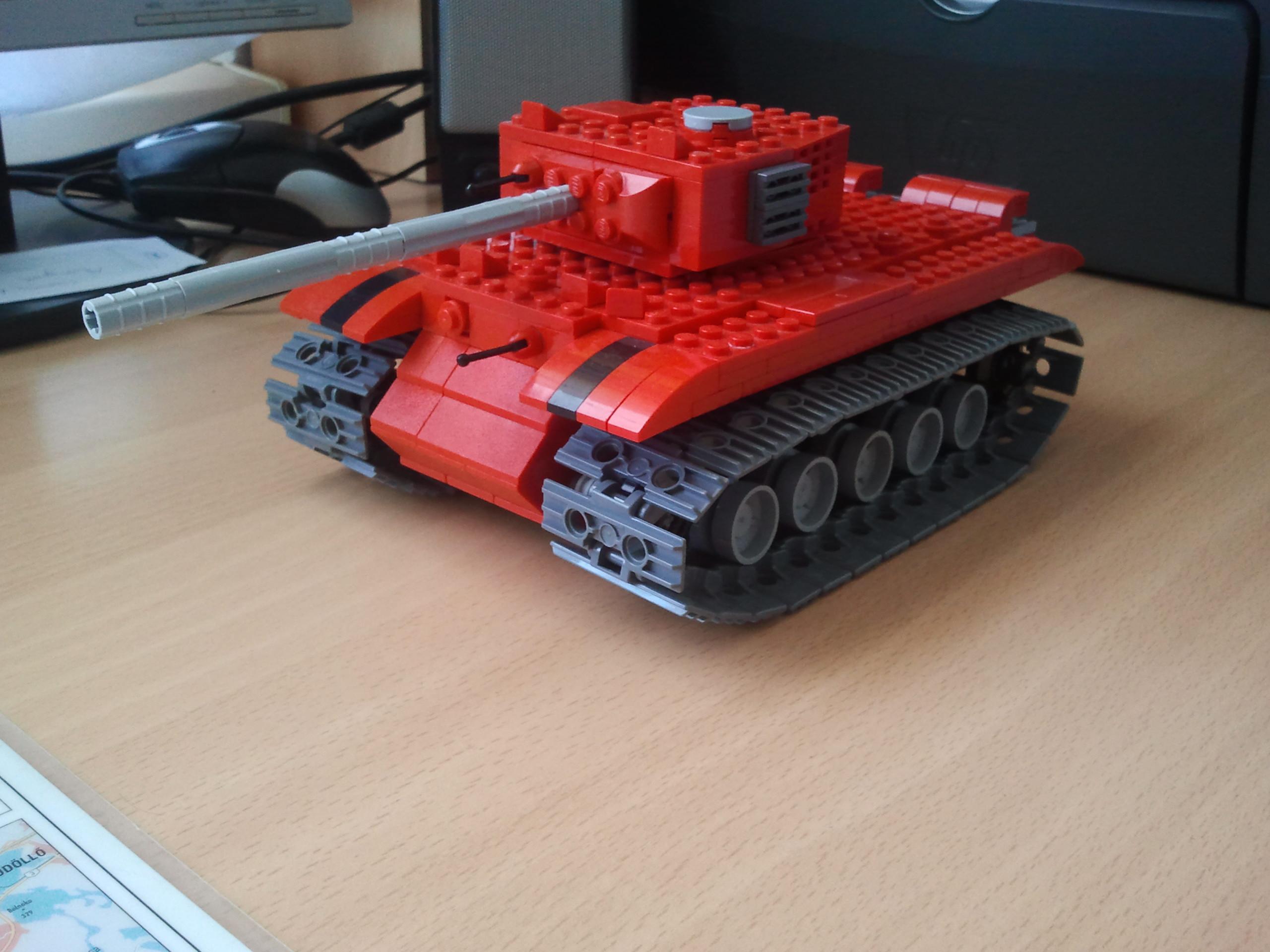 Как сделать танка из лего ису