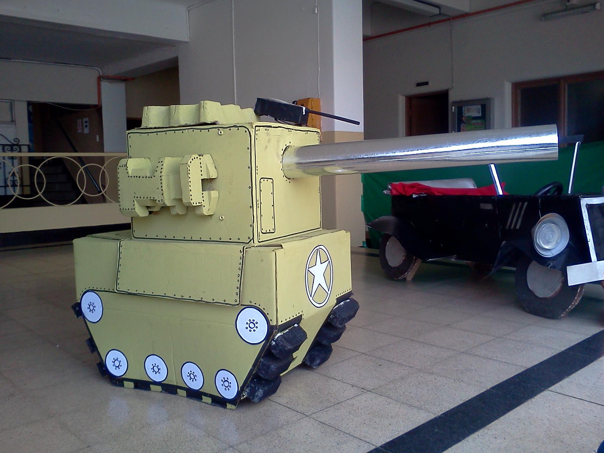 Как сделать танк 5