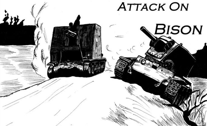 """Attack on Bison"" by snick112"