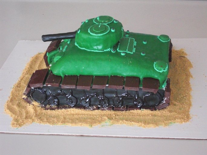 """M4 Cake-Tank"" by Redfenix"