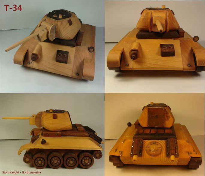 """Wood Tier T-34"" by Stormraught"