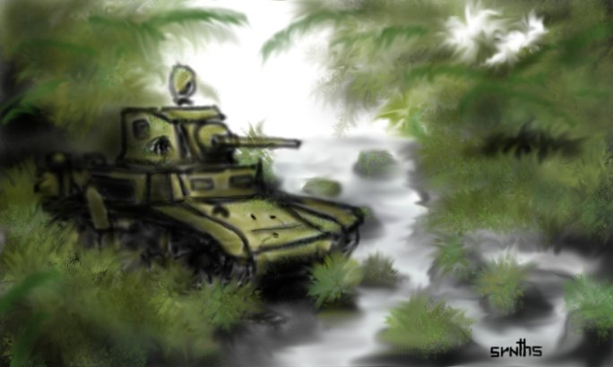 """Lost M3 Stuart "" by synths"