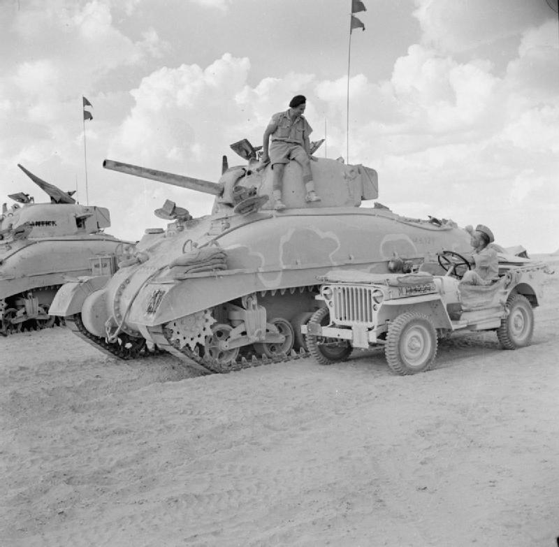 The Chieftain's Hatch: Sherman PR In 1942