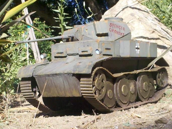 Paper Tank Contest Winners