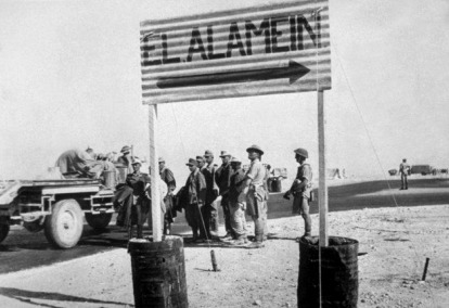 Image result for el alamein ww2