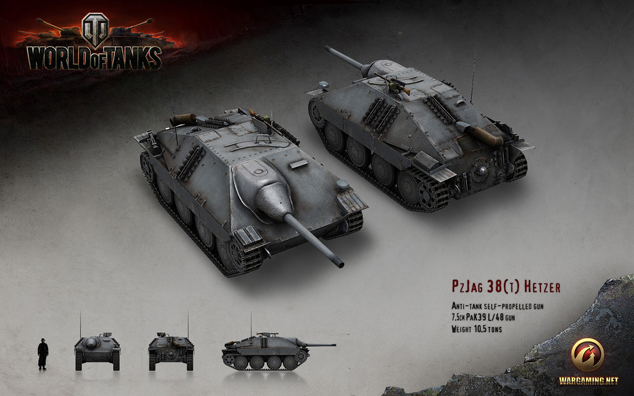Hetzer | Tanks: World of Tanks media, best videos and artwork