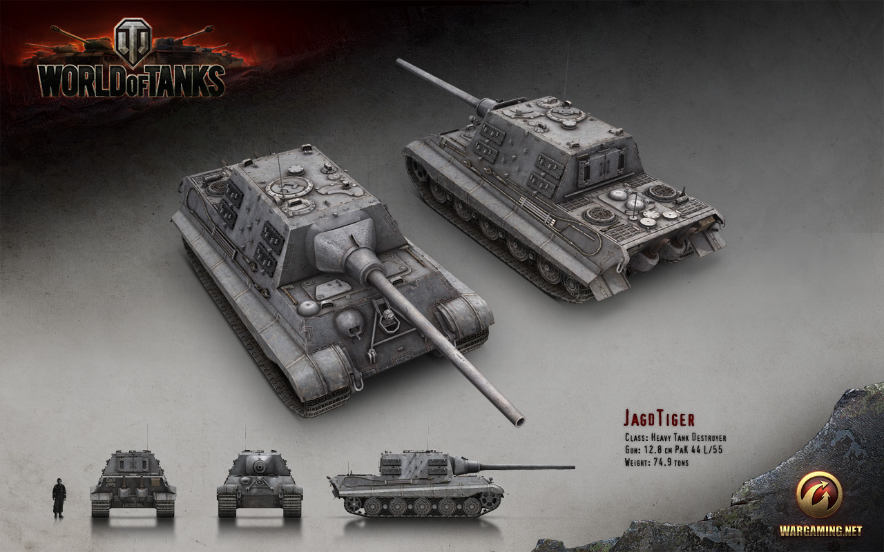 W.tiger World Of Tanks The collection of tanks