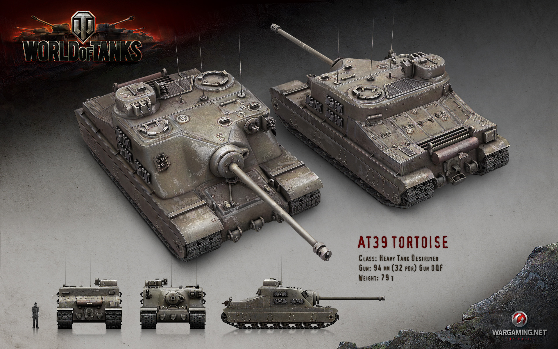 T95 Info  Tank Destroyers  World of Tanks official