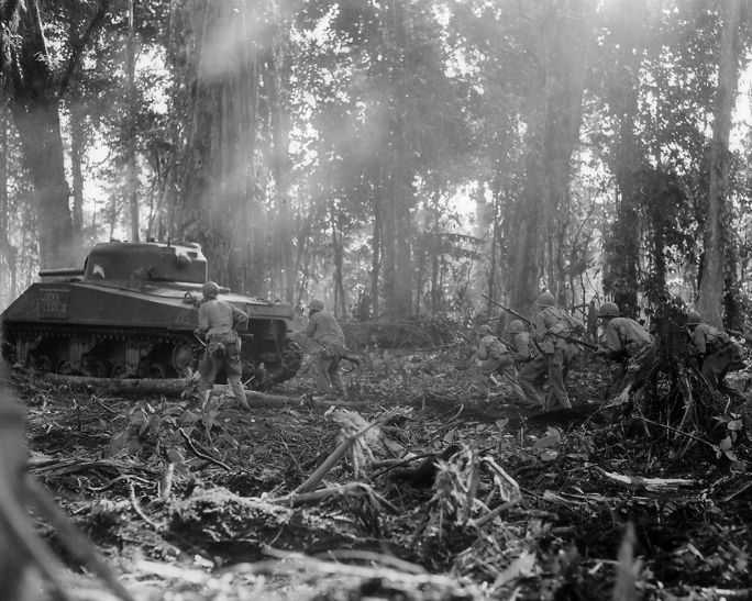 The Chieftain S Hatch Us Army Tanks In The Jungle Pt1